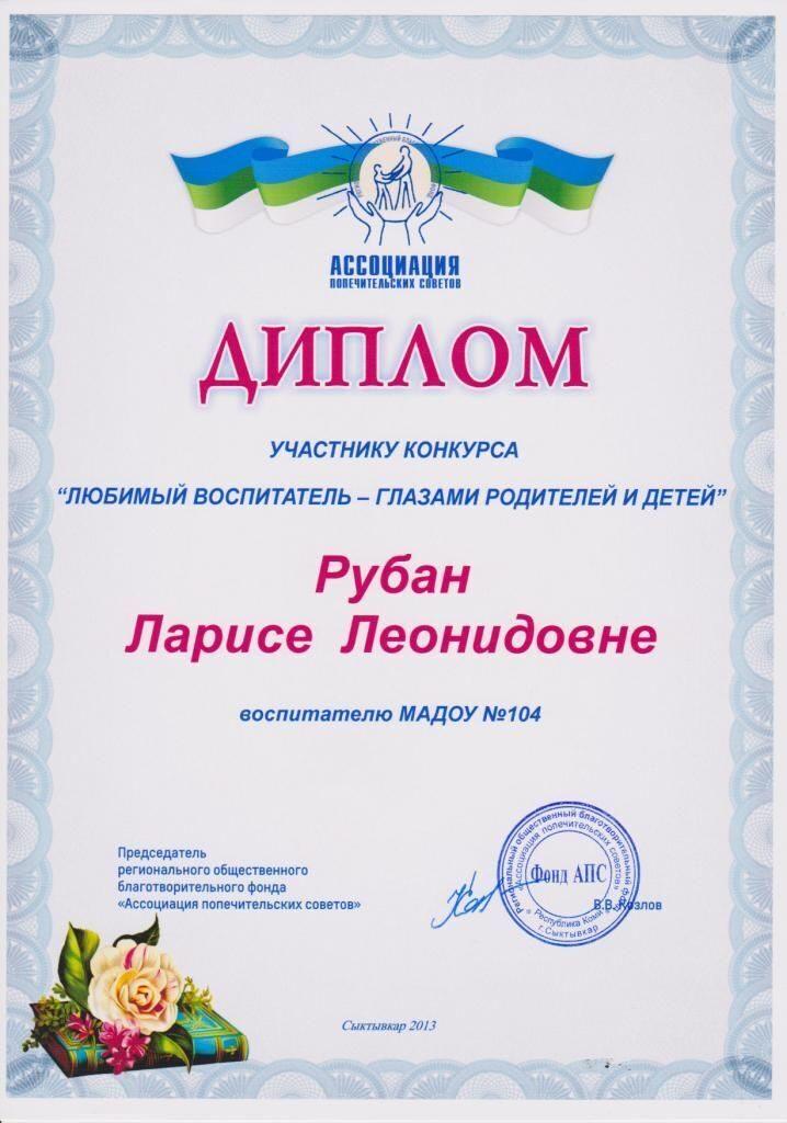 Участие в конкурсах для педагогов доу
